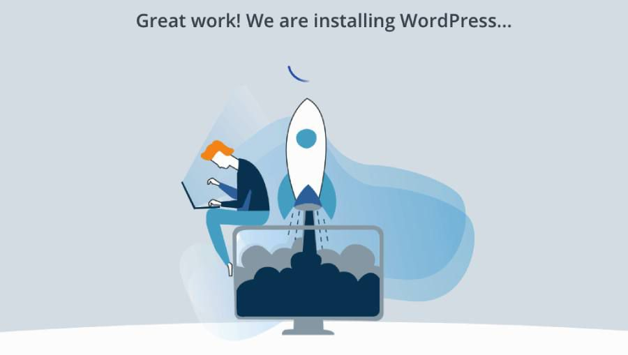 wordpress auto install