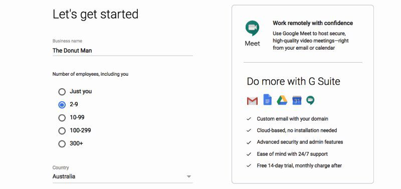 is g suite free - get started