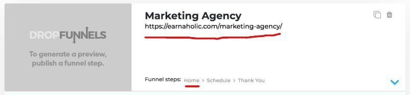 edit sales funnel website