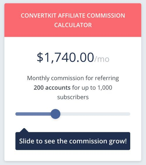 Affiliate programs with recurring commissions